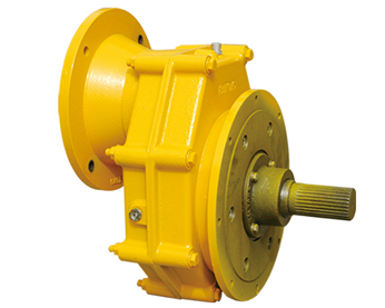 Gear box for screw conveyor